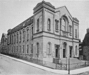 The original King Street Methodist Chapel in Plymouth.