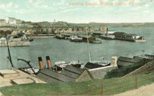 An early view of the eastern side of Millbay Docks at Plymouth