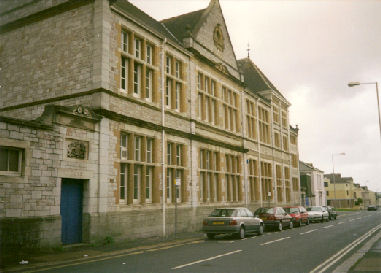 The former North Road Board School, Plymouth.